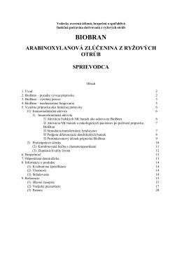BioBran - príručka po Slovensky [ PDF súbor, 7 MB ]