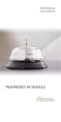 Instrukcja dla hoteli