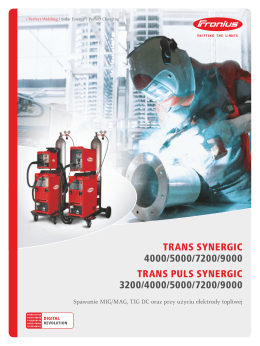 TRANS SYNERGIC 4000/5000/7200/9000 TRANS PULS