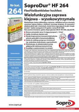 SoproDur® HF 264