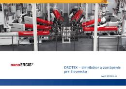 DROTEX - distribútor a zastúpenie pre Slovensko