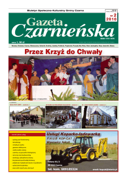 Gazeta Czarnieńska - Czarna, Urząd Gminy
