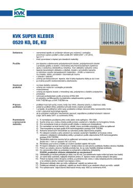 KVK super Kleber 0520 KO, de, Ku