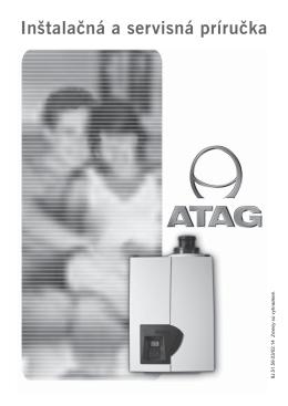 Inštalačný manuál - Kotly ATAG séria A