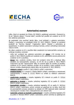 Autorizačný zoznam