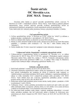 Štatút súťaže (pdf)