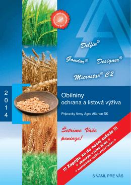Obilniny - Agro Aliance sro