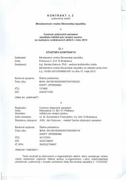 KONTRAKT č.2 a - Inštitút pre verejnú správu