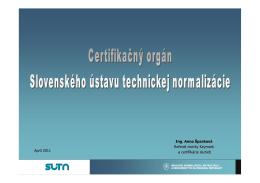 Certifikačný orgán SÚTN na služby_