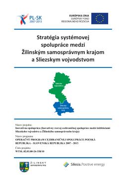 Stratégia systémovej spolupráce medzi Žilinským samosprávnym