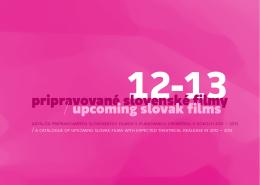 Pripravované slovenské filmy 12