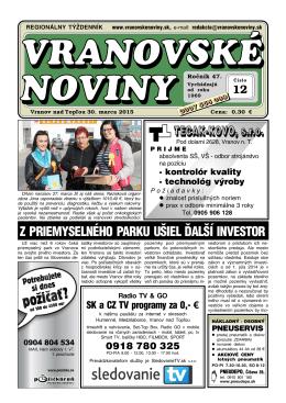 Vranovské noviny