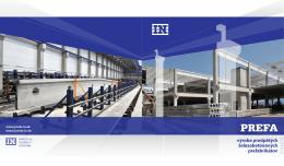 výroba predpätých železobetónových prefabrikátov