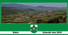 Rabča Kalendár obce 2015