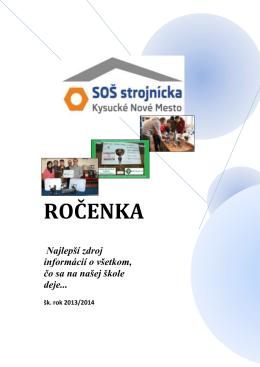 ROČENKA - Stredná odborná škola strojnícka