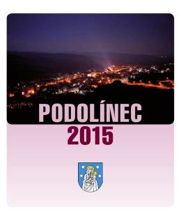 PODOLÍNEC 2015 - Mesto Podolínec