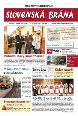 2013-20 - Slovenská brána
