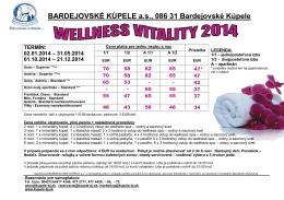 BARDEJOVSKÉ KÚPELE a.s., 086 31 Bardejovské Kúpele