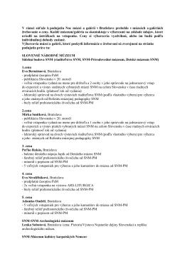 Výhercovia súťaže (PDF)