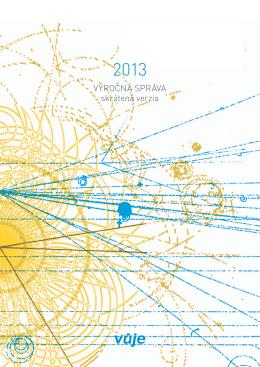 Výročná správa VUJE, a.s., 2013