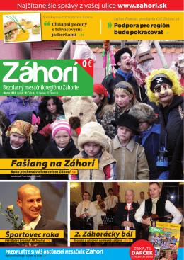 Marec 2012 - prozahori.sk
