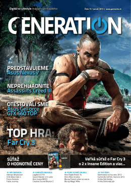 TOP HRA: - Generation magazín