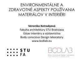 Prezentácia na seminári BEFFA 2014 v Bratislave
