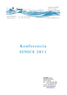 Konferencia SINICE 2011