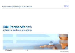 PartnerWorld contact services