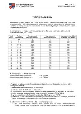 Nám. SNP 23 974 01 Banská Bystrica BANSKOBYSTRICKÝ