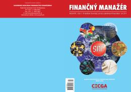 Finančný manažér 1/2014 - Slovenská asociácia podnikových