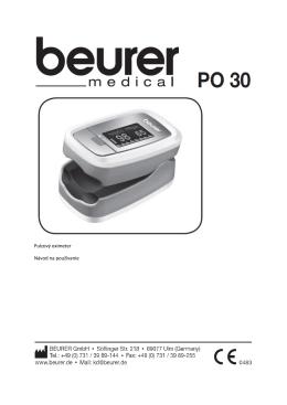 Pulzový oximeter Návod na používanie