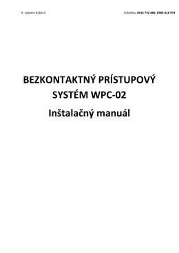 BEZKONTAKTNY PRISTUPOVY SYSTEM WPC-02.pdf