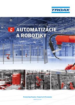AUTOMATIZÁCIE A ROBOTIKY