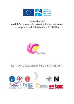 Európska sieť na dohľad a kontrolu rakoviny krčka maternice v