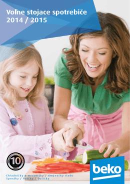 Katalog voľne stojacich spotrebičov Beko 2014 (pdf)