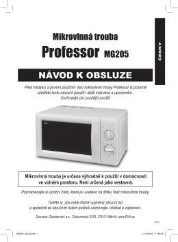 Professor MG205