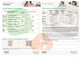 Ponuka balíkov pre Kežmarok: Dátovo a časovo neobmedzený