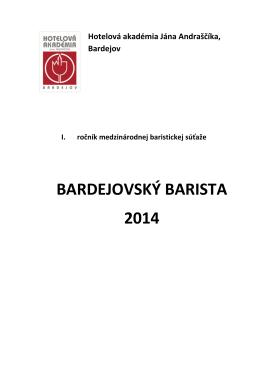 Štatút súťaže - Hotelová akadémia Jána Andraščíka