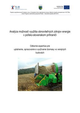 Biomasa - Eko
