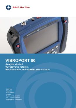 Údajový list VIBROPORT 80