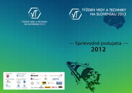 Sprievodné podujatia TVT 2012