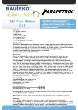 540 Flex Kleber C2T