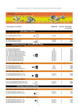 LED diódové žiarovky LED diódové žiarovky – GU10, R50