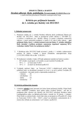Cenník pre zemné práce (pdf)