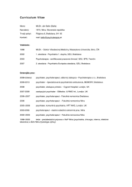 CV 2012 SK - Gestalt Studia