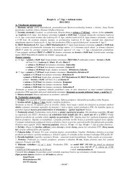 Rozpis 6 a 7 ligy, sezóna 2011/2012