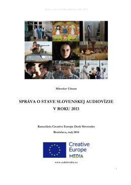 správa o stave slovenskej audiovízie v roku 2013