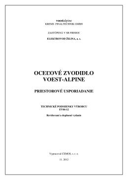 TPV_EV04-12 KB1 - Elektrovod Žilina, as