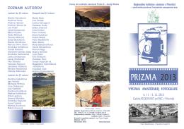 Bulletin Prizma 2013 - Regionálne kultúrne centrum v Prievidzi